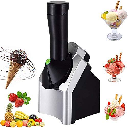 JDYDDSK Heladera electrónica, máquina casera de Helado de Frutas para Servir Helado Haga deliciosos sorbetes de Helado y máquina de Yogur Helado para niños para Hacer postres