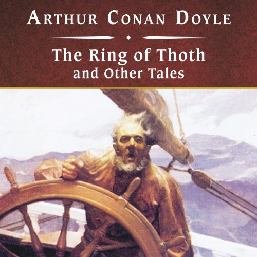 The Ring of Thoth and Other Tales  copertina