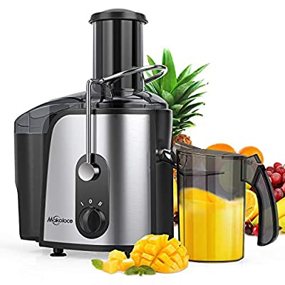 Juice Extractor,Makoloce Centrifugal Juicer Machines,1200W Juicer Makers Ultra Fast Extract Various Fruit and Vegetable Juice,High Juice Yield,Easy to Clean,Two Speed Control, BPA-Free,Dishwasher Safe,Include Brush