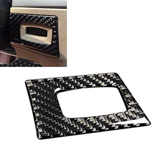 Arotom Carbon Fiber Interior Key Hole Frame Cover Trim Decal for BMW 3 Series E90 E92