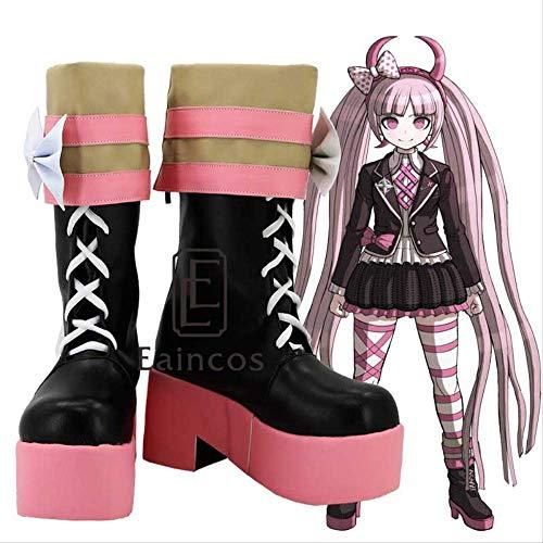 BELUNOT Anime Danganronpa Utsugi Kotoko Cosplay Party Shoes Girls Fancy Boots Custom Made