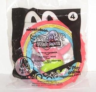 Spongebob Squarepants McDonalds Happy Meal Toy #4 ~ Patrick Spinner 2012