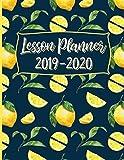 2019-2020 Teacher Lesson Planner: Lemons on Navy Blue (Teacher Lesson Planners)