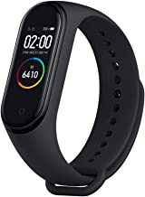 MI Xiaomi Band 4 Smart Bracelet Smartband Heart Rate Monitor Sleep Monitor Fitness Tracker 3 Color AMOLED Screen 5ATM Waterproof Band4 Black Global Version
