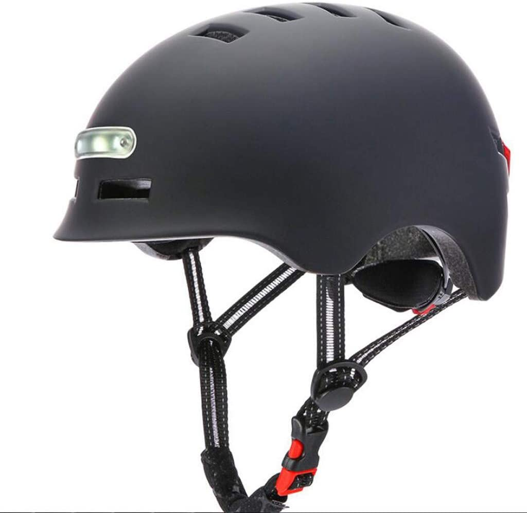 PASATO Adult Helmet with LED Bicycle Helme Sales results No. 1 Light Max 43% OFF Commuter Safety