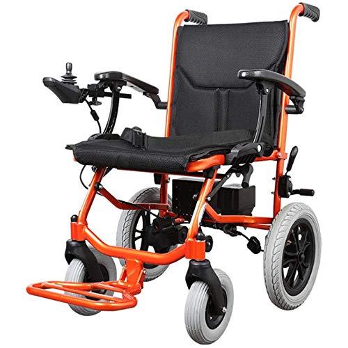 FC-LY Elektrischer Rollstuhl Kompakter Rollstuhl, Faltbarer & Leichter, motorisierter Rollstuhl mit Hochleistungs-330LBs-Lasten, Aviation Travel Safe Power Chair