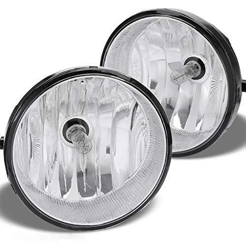 Celiy_Ship from US Warehouse Fits 2005-2011 Tacoma 07-13 Tun-dra Bumper Fog Lights Lamps w/Bulbs Solara
