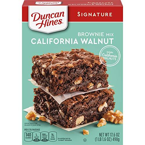 Duncan Hines Signature California Walnut Brownie Mix 176 OZ