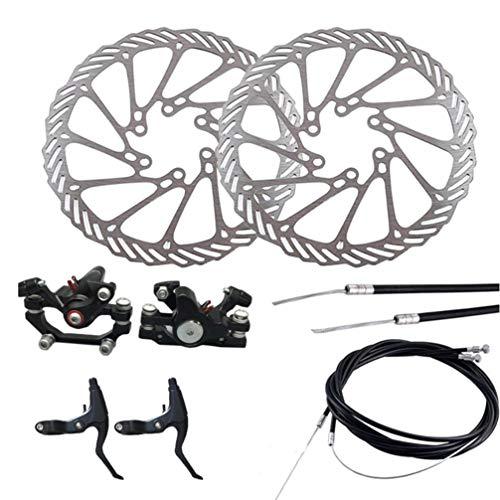 BESPORTBLE Fahrradbremse Scheibenbremse Vordere Und Hintere Kurbel Und Kabel für Mountainbike-Fahrrad