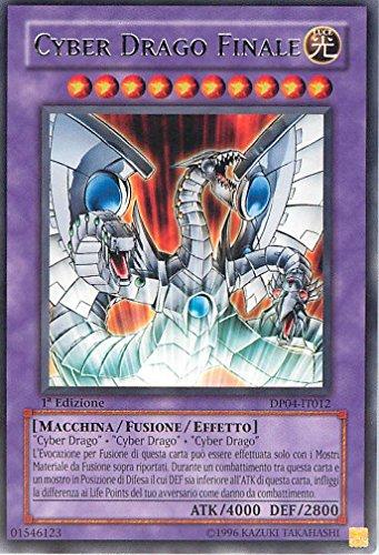 Yu-Gi-Oh! - DP04-IT012 - Cyber Drago Finale - Zane Truesdale - Unlimited Edition - Rara