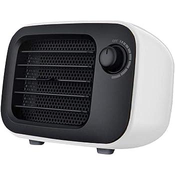 Calefactor Eléctrico, 300W Mini Calentador de Ventilador