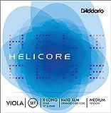 Set di corde D'Addario Helicore per viola, Extra Long Scale, tensione media...