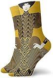 Novedad Funny Crazy Crew Sock Sexy mujeres con diseño creativo 3D Impreso deporte atlético calcetines cm largo personalizado regalo calcetines 30cm