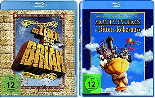 Monty Python Das Leben des Brian + Die Ritter der Kokosnuss [Blu-ray Set]