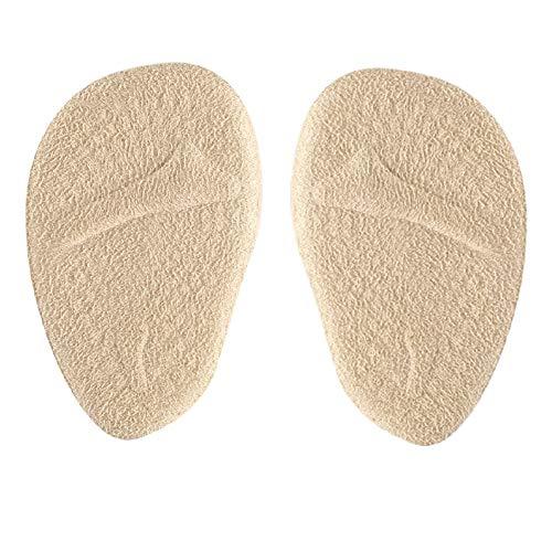 Yosoo Ball of Foot Cushions, 2 paar anti-slip schoen pads voegt gel voorvoet inlegzolen voor vrouwen hoge hakken, schokabsorberende onzichtbare boog pad, verlichten druk en pijn