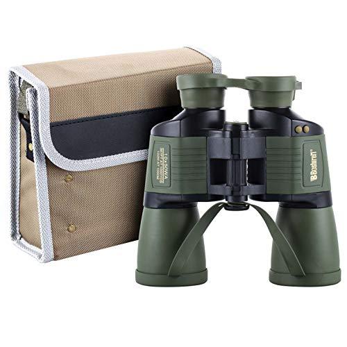 Bueuwe Fernglas, mit Koordinate 10x50 Autofokus HD Nachtsicht Zielfernrohr, Tägliches wasserdichtes Teleskop, Erwachsene Outdoor Vogelbeobachtung Reisen Jagd Fußball