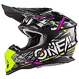 Casco para motocross de Oneal 2 Series Synthy Youth, negro, Medium