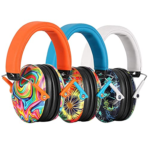 ear protectors for kids PROHEAR 032 Kids Ear Protection 3 Pack, NRR 25dB Noise Reduction Safety Earmuffs for Children, Adjustable Hearing Protectors for Concerts, Racing, Airshows, Mowing SKU: 032 lollipop&rap