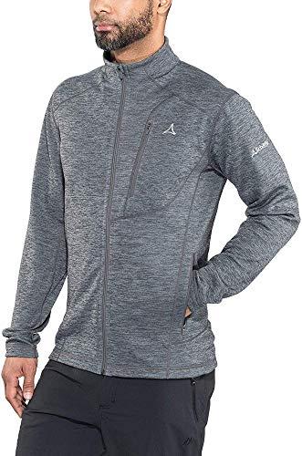 Schöffel Herren Jacke Fleece Jacket Monaco1, Ebony, 56, 21965-00-23000
