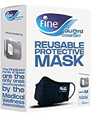 Fine Guard Comfort Adult Face Mask With Livinguard Technology - Size Medium