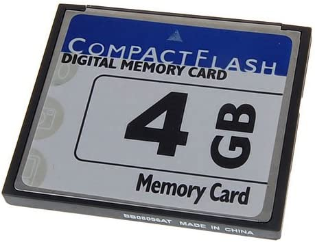 MagiDeal 4GB CF Compact Flash Memory Card for Digital Cam for Canon EOS PowerShot