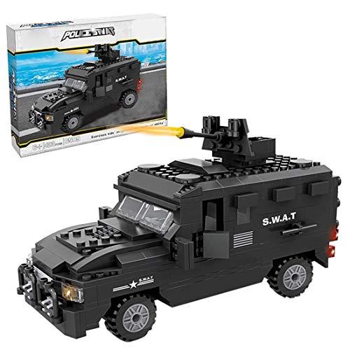 YDDY Bausteine City Technik SWAT Truck Kompatibel mit Lego City - 423Teile