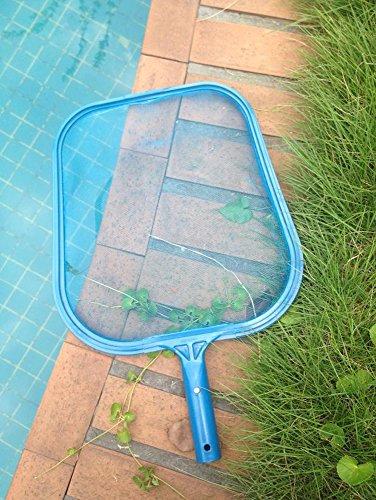 JuneJour Filet de Pêche Filet à Insectes Papillons pour Râteau à Feuilles Epuisette de Fond Nettoyage de Piscine
