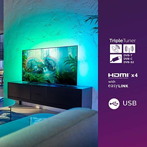 TV OLED 4K 65 pouces Philips 65OLED754 Téléviseur OLED 164 cm - SMART TV - HDR 10+ - Ambilight 3 cotés - Moteur P5 - Dolby Vision Atmos - 4 x HDMI