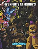 Five Nights At Freddy Coloring Book: Activity Books For Kids 3 Years And Older Enhance Creativity, Train Brain, Increase Imagination And More