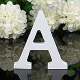 Freeas Dekorative Holz Buchstaben, hängende Wand 26 Buchstaben aus Holz Alphabet Wand Buchstaben...