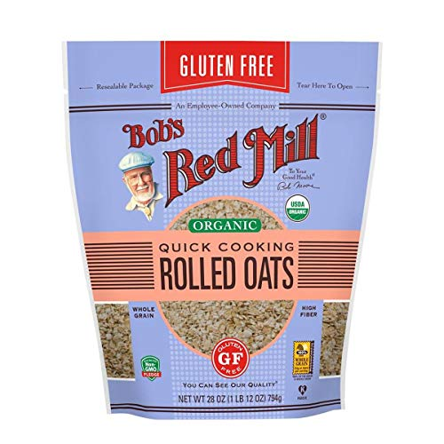 Bob#039s Red Mill Gluten Free Organic Quick Cooking Oats 28 OZ