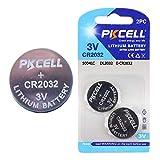 PKCELL BATTERY CR2032-2B 3.0V リチウム ボタン電池CR2032 2個パック