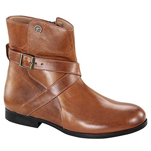 Birkenstock Women's Collins Boot Camel Leather Size 36 M EU