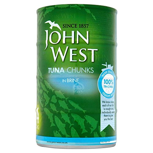 John West Thunfisch Stücke In Salzlake (4X160G)