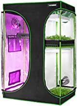 "VIVOSUN 2-in-1 48""x36""x72"" Mylar Reflective Grow Tent for Indoor Hydroponic Growing System"