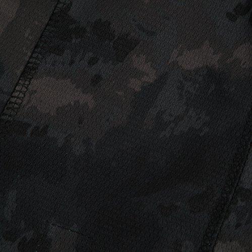 『【ノーブランド品】3Way フェイスマスク アーミー バラクラバ ミリタリー (ブラック迷彩)』のトップ画像