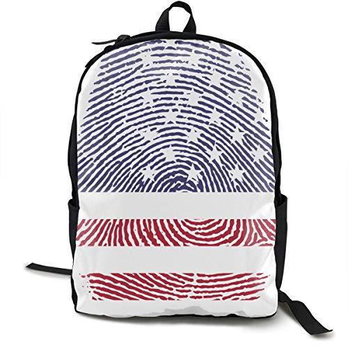 America Travel Computer Bag Mochila para computadora portátil Unisex, School College se Adapta a 15 '' Laptop BAG-064