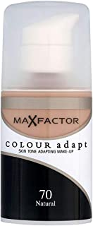 Max Factor Colour Adapt Foundation Oil Free, 070 Natural
