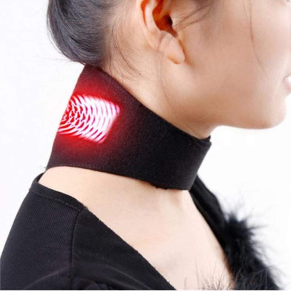 Genuine Neck Belt Tourmaline Self Heating Now free shipping Bel Therapy Wrap Magnetic