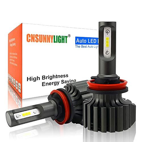 Coche LED Bulbo De La Linterna H4 H7 H11 / H8 H1 9005 9006 9004 H13 H27 H3 42W 7000Lm 5500K La Linterna del Coche Luz De Niebla,9012 (hir2)