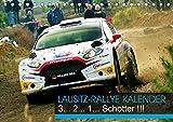 Lausitz-Rallye Kalender (Tischkalender 2021 DIN A5 quer)