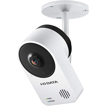 アイ・オー・データ ネットワークカメラ Qwatch 屋外用 見守り Wi-Fi 防塵 防水 IP65準拠 土日サポート 日本メーカー TS-NA220W