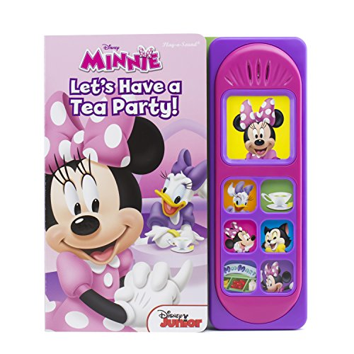 Disney Minnie Mouse - Let's Have a Tea Party! Little Sound Book - PI Kids (Play-a-sound: Disney Minnie)