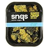 Snaqs 90132 Patatine di alghe marine - confezioni 10x40 grammi