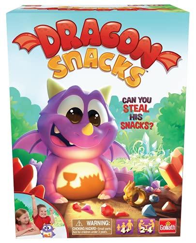 """Goliath Dragon Snacks Game - Find The Treasure & Win Multi Color, 5"""""""