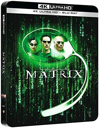 The Matrix 4K, Steelbook, Zavvi exklusive, Blu-ray 4K UHD und Blu-ray beide mit deutschem Ton, Uncut, Regionfree