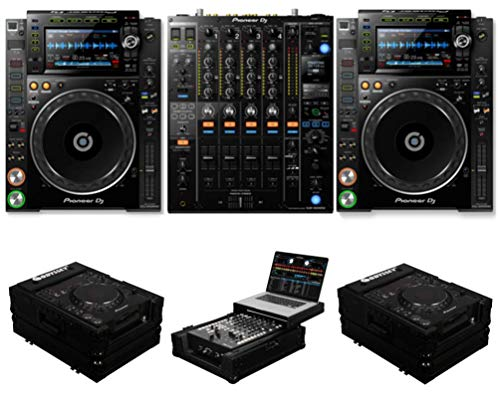 Buy Bargain Pioneer DJ CDJ-2000 NXS2 + DJM-900 NXS2 + FZCDJBL & FZGS12MX1BL Cases Bundle Deal