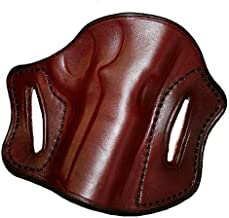 Right Hand - Tucker & Byrd Leather Pancake Belt Holster - Bond Arms Texas Defender - Dark Brown