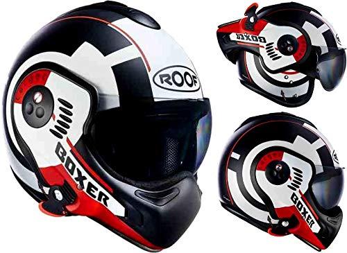 Roof ルーフ Boxer V8 Target Mat ヘルメットライダー バイク ツーリングにも かっこいい アウトレット (XS (約54cm) ワンカラー)