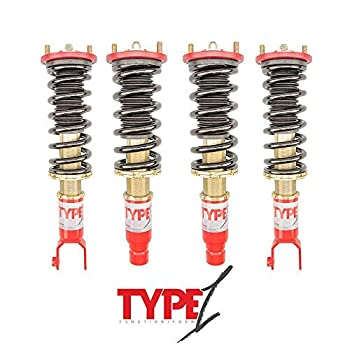Function & Form F2-EGDC2T1 Function & Form- Type 1 Non-Adjustable Coil-Overs- Acura Integra DC2 1